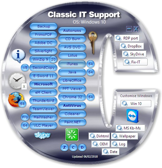 Classic IT Support app